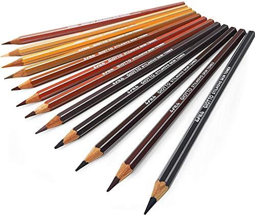 Giotto Stilnovo Buntstifte–12Stück in verschiedenen Hautfarben