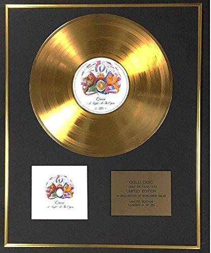 Century Music Awards Queen - Esclusivo disco in oro 24 carati in edizione limitata - A Night At The Opera