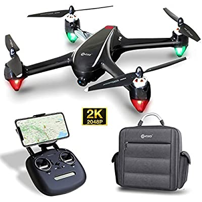 Contixo F22 RC Foldable Quadcopter Drone   Selfie, Gesture, Gimbal 1080P WiFi Camera, GPS, Altitude Hold, Auto Hover, Follow Me, Waypoint Includes Drone Storage Case by Contixo