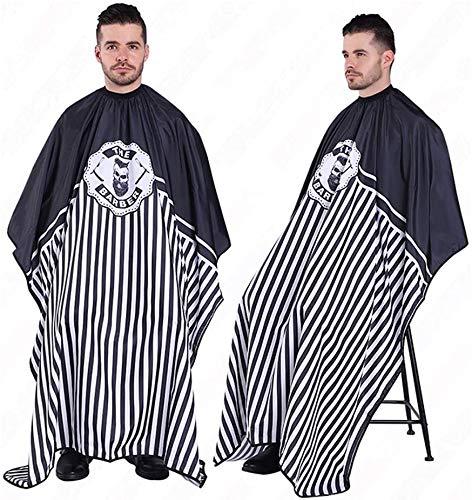Bata para Barberías Capa peluquerías - Capa de Cuerpo Entero peluqueros/Barberos Profesionales Unisex Bata para Peinados, Cortes y Teñidos
