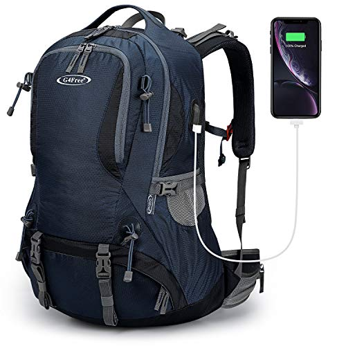 G4Free 50L Hiking Backpack Waterproof Daypack Outdoor Camping Climbing Backpack