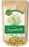 Chamomile Flowers Tea   4 oz Reseable Bag   Chamomile Tea Loose Leaf   Extra Grade,Dried Chamomile Herbal Tea   Relax, Sleep Well  