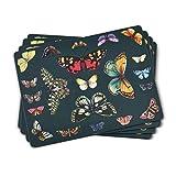Portmeirion Home & Gifts - Juego de 4 manteles Individuales Grandes, Multicolor, 40 x 29,8 cm