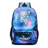 Tokyo Ghoul Pattern Mochila Ocio Mochila Escolar Bolsa de Viaje al Aire Libre Mochila Deportiva, I