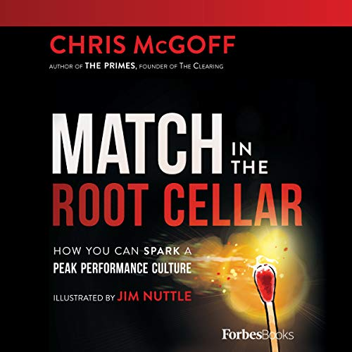 Match in the Root Cellar  audiobook cover art
