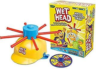 Wet Head Game Wet Hat Water Challenge Toys Roulette Game For Family Fun