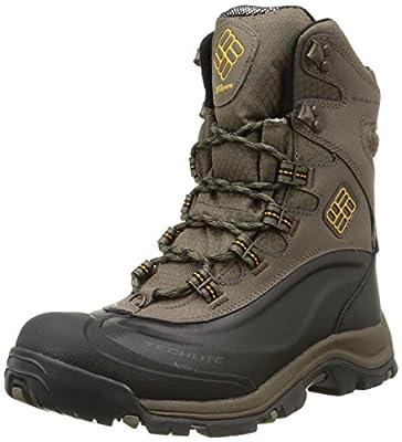 Columbia Men's BugabootPlus III Omni Cold-Weather Boot, Brown Leather (12)