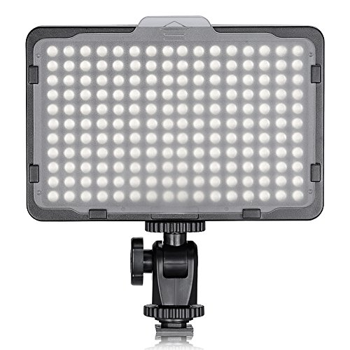 Neewer 176 LED Luz LED Video Cámara Ultrabrillante 3200-5600K Regulable 1/4 de...