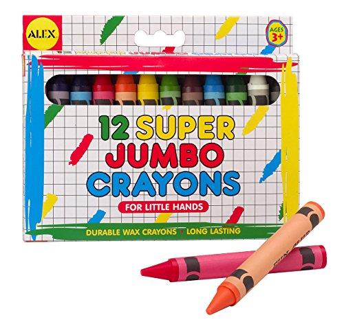 ALEX Toys Artist Studio 12 Super Jumbo Crayons