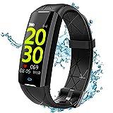 ELEGIANT Fitness Activity Tracker, Smartwatch Bluetooth Orologio Impermeabile IP67 6 Sport per iPhone 11 pro XS Max XR X 8s Samsung S20 S10 S9+ Huawei Mate P20 P30 P40 PRO HTC LG Xiaomi Motorola ecc