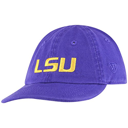 Top of the World Lsu Tigers Infant Infant (0-12 mo) Hat Adjustable Relaxed Fit Team Icon, One Fit