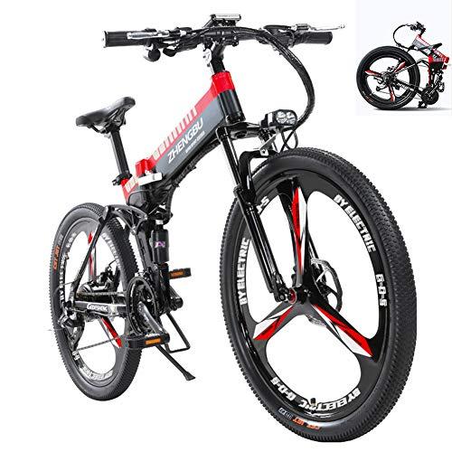 26 Nueva Eléctrica Plegable Bicicletas - Smart LED De 48V 10Ah 400W...