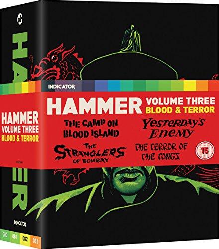 Hammer Vol 3 - Blood And Terror - Limited Edition Blu Ray [Blu-ray] [Reino Unido]
