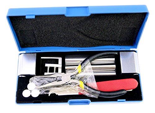 TPM Go Herramienta profesional 12 en 1 HUK para desmontaje de cerrajero, herramientas de reparación de cerrajería, kit de herramientas de reparación