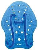 Seac Unisex– Erwachsene Paddel für das Schwimmtraining im Pool und im Freiwasser, Blau, M