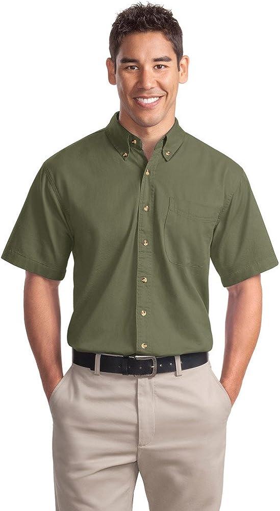Port Authority Short Sleeve Twill Shirt (S500T)