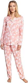 Rösch New Romance 1213088-16585 Women's Modern Leaves Cotton Pyjama Set