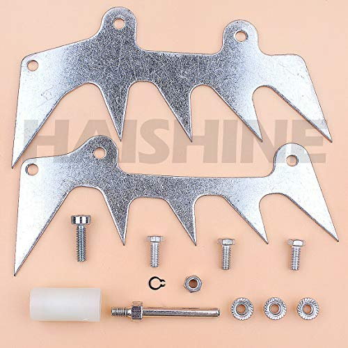 Replacement Parts, Dual Felling Dog Roller Catcher for Stihl Ms441 Ms661 064 Ms 441 661 Chain Saw