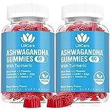 2 Pack Ashwagandha Gummies 2000mg Organic Ashwa Root...