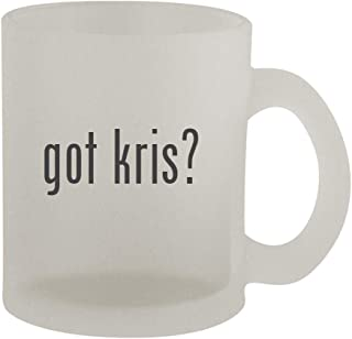 got kris? - 10oz Frosted Coffee Mug Cup, Frosted