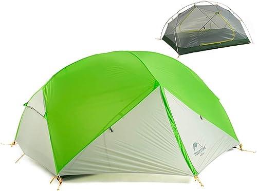 Huijunwenti Double Tente extérieure de Haute qualité, Tente de Camping, matériau Ultra-léger, matériaux de Haute qualité, Facile à Installer Le dernier Style, Simple
