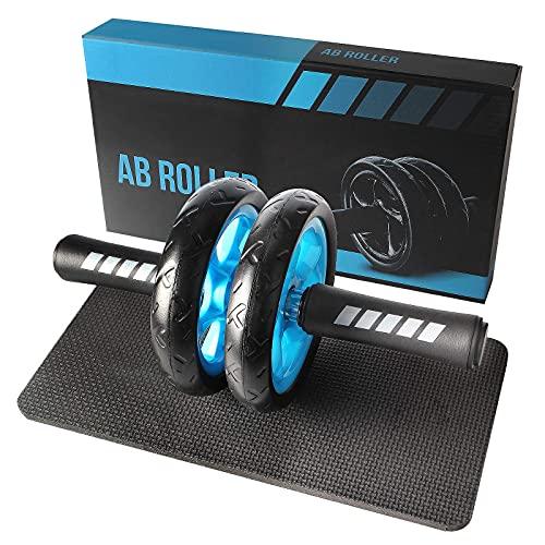 Quesuc Ruota Addominali Abs Roller Wheel, Trainer Addominali Attrezzi Crunch, Rotella Fitness...