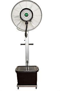 Aires acondicionados móviles Ventilador de pulverización con humidificador, Ventilador Industrial Industrial, refrigeración Exterior y eliminación de Polvo, 260W