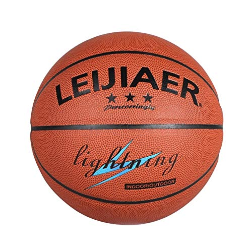 Best Buy! Basketball Zhenku LEIJIAER BKT 520U 5 in 1 No.5 Classic PU Leather Basketball Set for Trai...