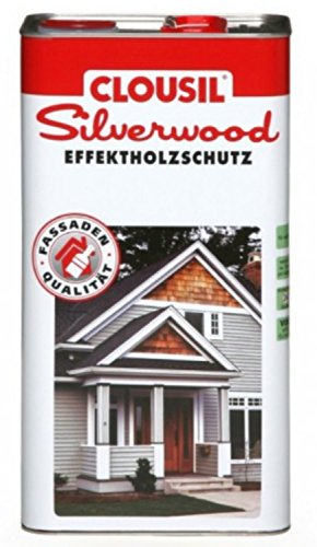 CLOUsil Silberlook Effektholzschutz mahagoni classic 2,5 L
