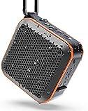 Bluetooth Mini Lautsprecher 5.0 Wasserdicht IPX7 Musikbox Staubdicht, 360° TWS Stereo Sound, 12-Stunden Spielzeit, Sprachassistent und Mikrofon, Mini Radio mit AUX, unterstützt SD-Karte, TF-Karte