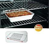 Grundig - Estante extensible de repuesto ajustable para horno