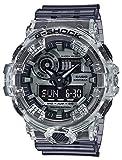 [カシオ]CASIO 腕時計 G-SHOCK ジーショック Clear skeleton GA-700SK-1A メンズ スケルトン [並行輸入品]