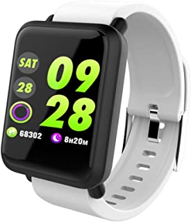 JSGJSH 2018 New Smart Bracelet M28 Smart Watch IP67 Waterproof Heart Rate Monitor Fitness Tracker Smart Wristband Blood Pressure Support Android iOS Bluetooth