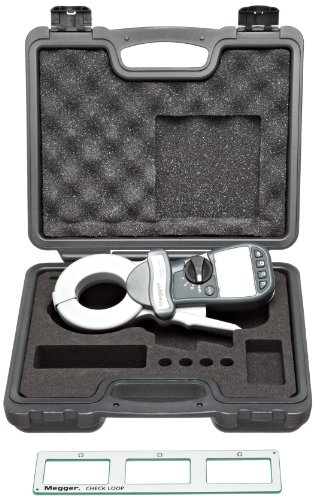 Megger DET14C Digital Clamp-On Ground Resistance Meter with Data Storage