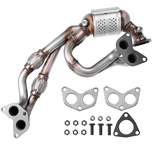 AUTOSAVER88 Catalytic Converter Compatible with 2006-2012 Subaru Forester, Impreza, Legacy, Outback / 2006 Saab 9-2X 2.5L Direct-Fit High Flow Series (EPA Compliant)