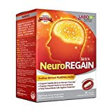 LABO Nutrition NeuroREGAIN - Scallop-derived PLASMALOGEN for Brain Deterioration, Memory, Alertness, Learning, Concentration and Other Cognitive Functions – Suitable for Seniors, Adult Men & Women