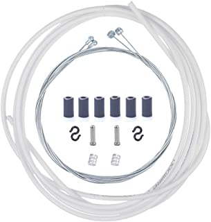 We Moment Bike Brake Cable and Housing Set Mountain Bicycle Brake Cable and Housing Kit Brake Cable Wire Universal