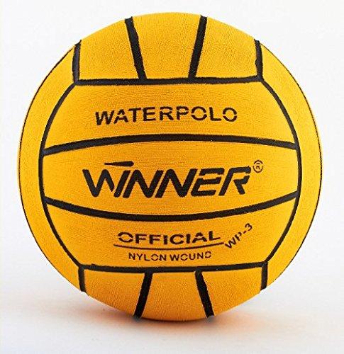 Ganador del balón de waterpolo. Tamaño 3.Mini Polo. Amarillo