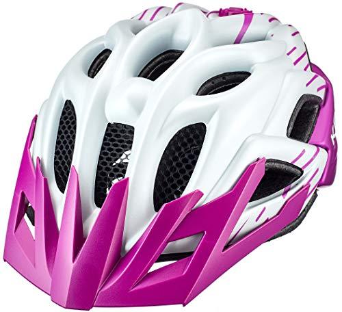 KED Status Helm Kinder Pearl/Violet Matte Kopfumfang S | 49-54cm 2020 Fahrradhelm
