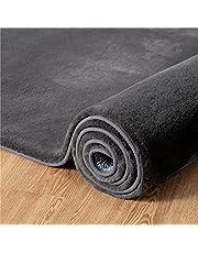 Bedsure Vloerkleed, laagpolig, pluizig vloerkleed voor woonkamer en slaapkamer, modern design, rechthoekig, shaggy carpet