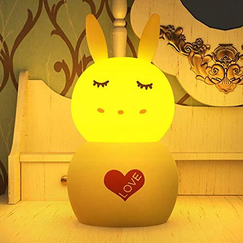 Lámpara de Mesa Lámpara pequeña carga Noche Ambiente dormitorio lámpara de cabecera de la lámpara pequeña lámpara de mesa lámpara de detección a distancia de control se puede programar noche de la lám