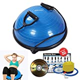 RitFit Balance Ball Trainer with Resistance Bands, Free Foot Pump, Exercise Wall...