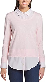 Ladies' 2-fer Blouse, Pink