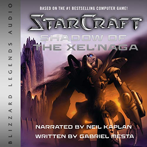StarCraft: Shadow of the Xel'Naga audiobook cover art