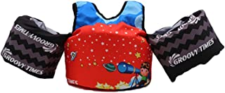 Kids Swimmer Float Vest, Good Baby Swimming Vest Jackets Swim Armbands Foam Vests Children Safety Vest with Arm Wings