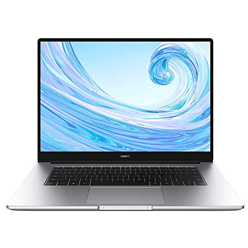 Huawei MateBook D 15″ – AMD Ryzen, Windows 10-8+256 GB,15.6 Pulgadas, Color Plateado (Mystic Silver)