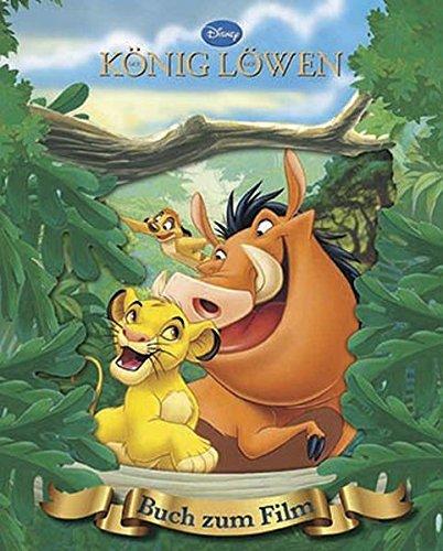 Der König der Löwen: Das Buch zum Film mit magischem 3D-Cover