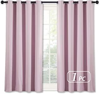 NICETOWN Blackout Curtain for Girls Room – Thermal Insulated Solid Grommet Room..