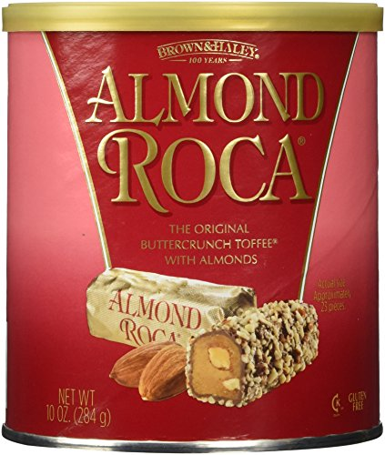 Brown and Haley Almond Roca 10 OZ Can 2 Pack