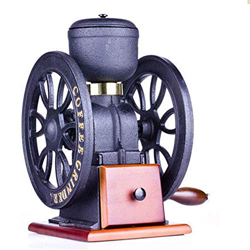 Check Out This Z-SEAT Manual Coffee Grinder Vintage Style Coffee Grinder Grain Mill Hand Crank Coffe...